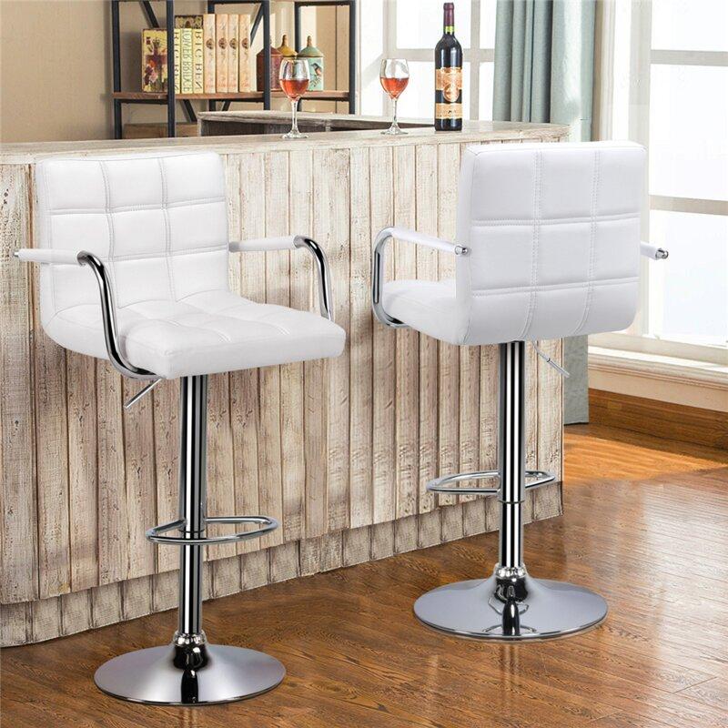 Fabulous Hardiman Adjustable Height Swivel Bar Stool Ncnpc Chair Design For Home Ncnpcorg