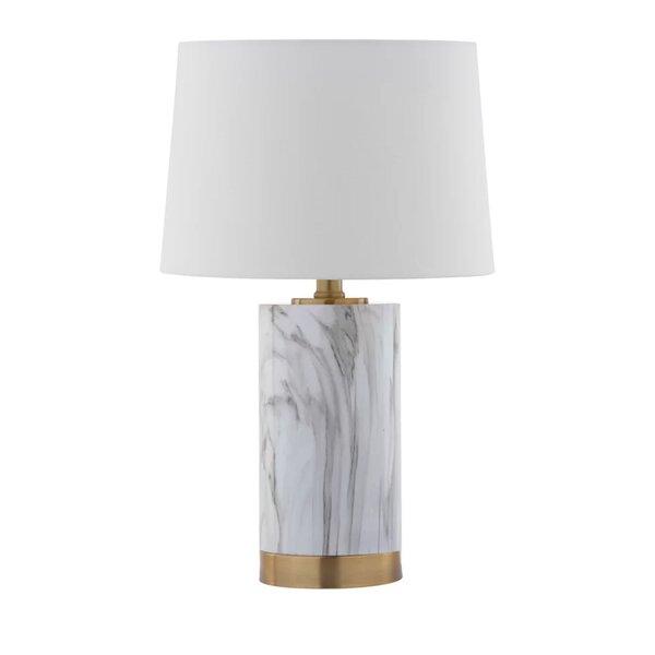 Led Lamps Nordic Marble Led Table Light Long Pole Office Decorative Table Lamp Bedroom Bedside Desk Lamp Reading Desk Light Light Fixtures