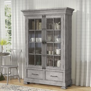 Tarentum Lighted China Cabinet by Gracie Oaks