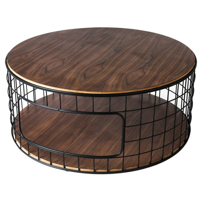 wireframe coffee table reviews allmodern. Black Bedroom Furniture Sets. Home Design Ideas