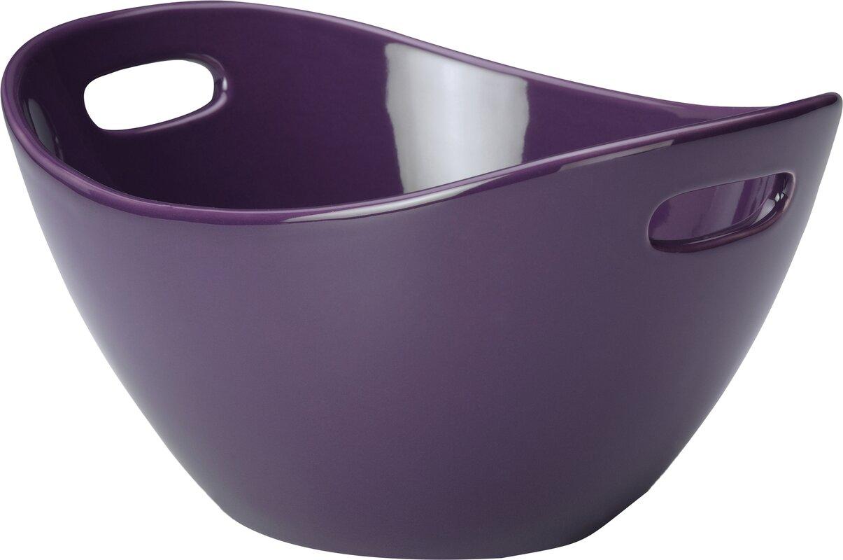 Rachael Ray Stoneware Salad Bowl & Reviews | Wayfair
