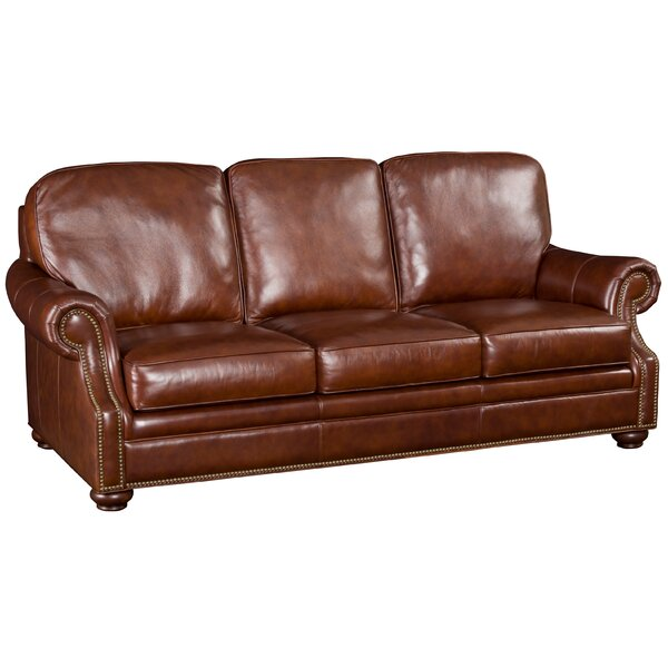 Hooker Furniture Hooker Leather Sofa U0026 Reviews | Wayfair
