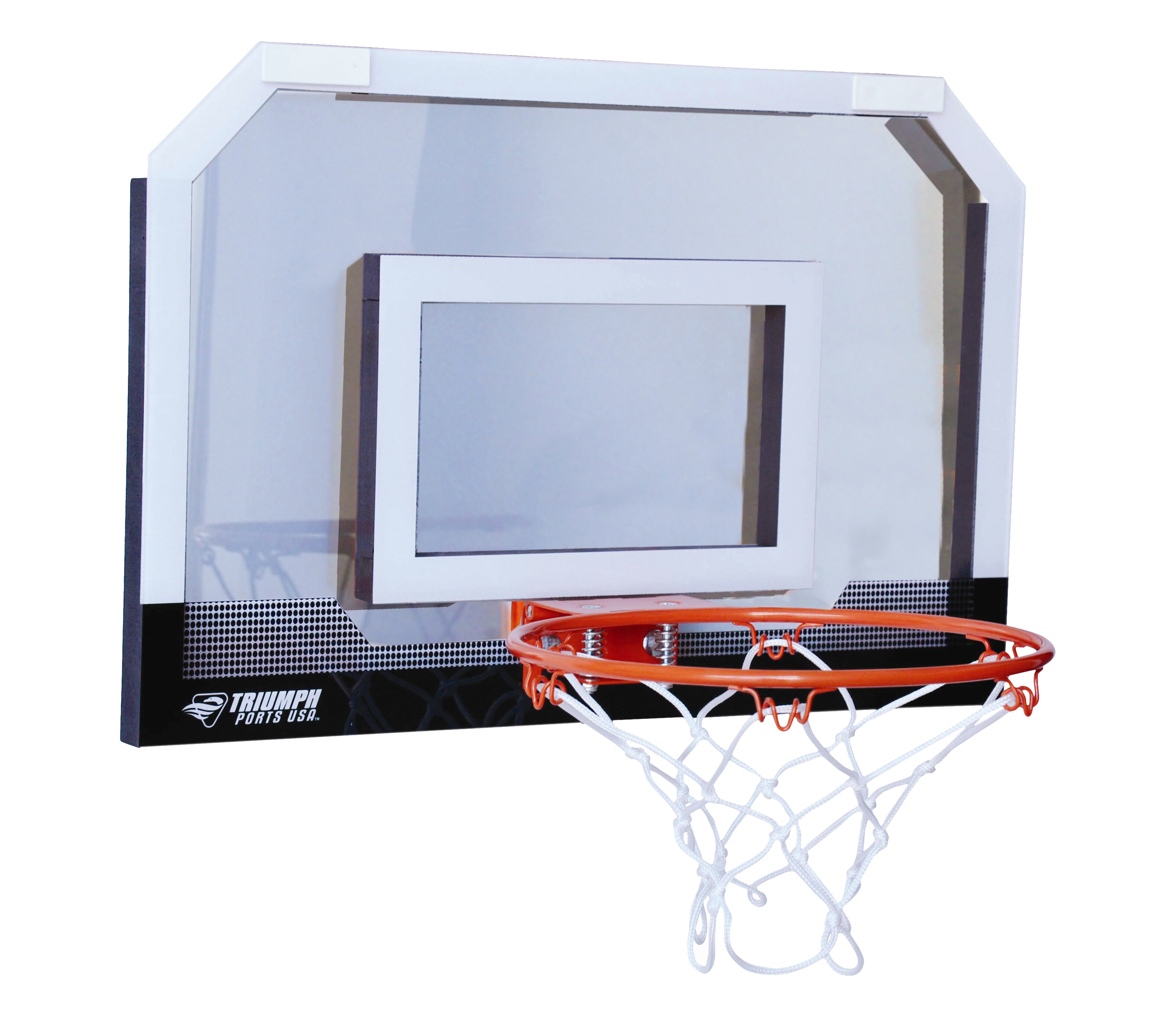 Triumph Sports Usa Door Court Over The Basketball Set Reviews Wayfair