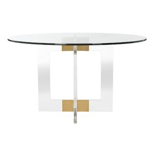 Modern Contemporary Frosted Glass Dining Table Allmodern
