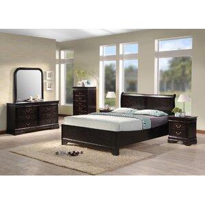 6 piece bedroom set. Bartolo Panel 6 Piece Bedroom Set Queen  Wayfair