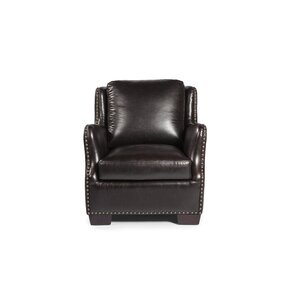 Vicar Armchair by Lazzaro Leather