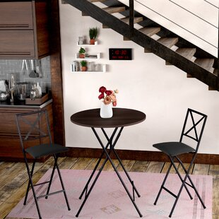 Vargas 3 Piece Counter Height Bistro Set