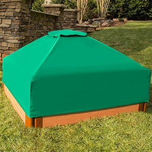 4 ft. Square Sandbox with Cover