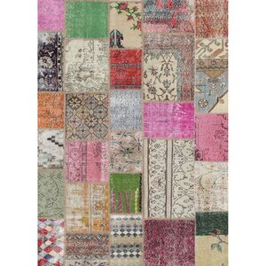 Boho Patchwork Indoor/Outdoor Area Rug