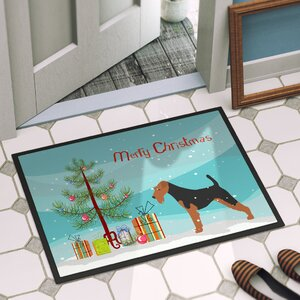 Welsh Terrier Door Mat