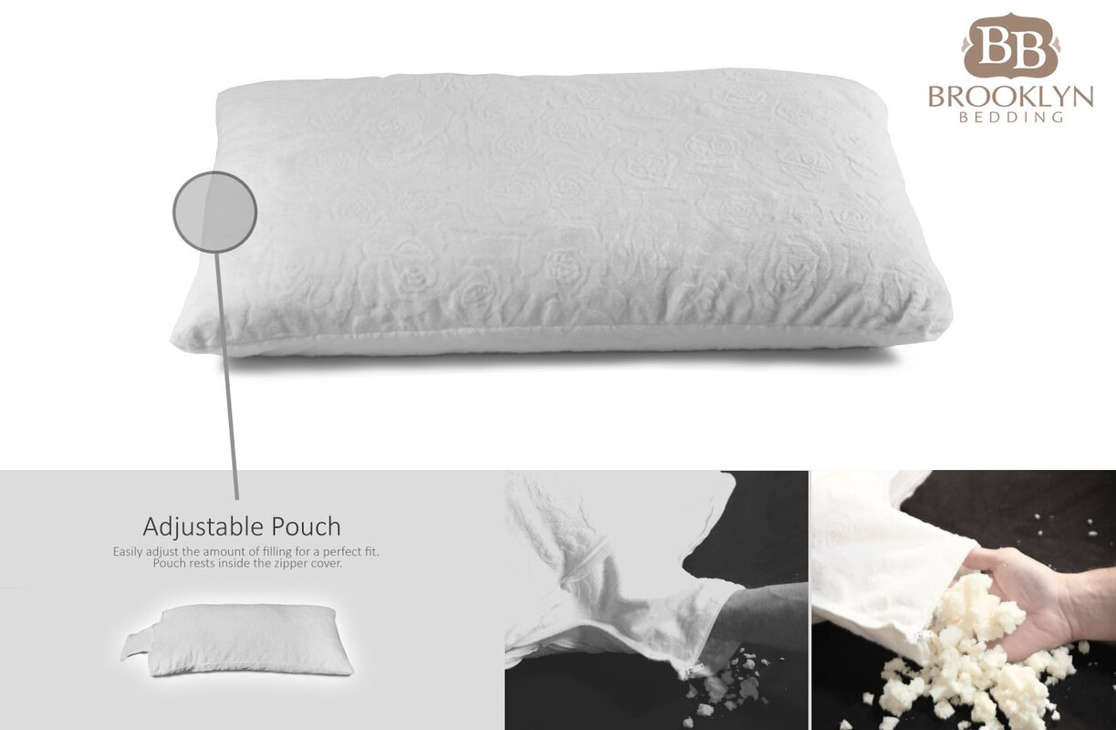 infused gel latex webster temple talalay pillow contour dreamaker