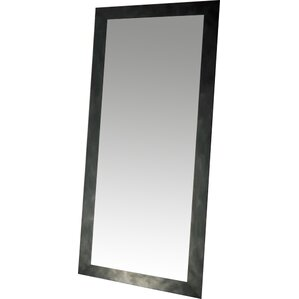vintage black tall vanity wall mirror