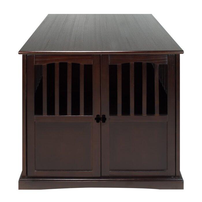 red barrel studio cayer pet crate end table & reviews | wayfair.ca