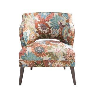 Delicieux Nolan Floral Mod Side Chair