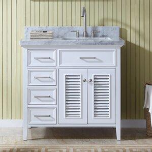 Bathroom Vanities Right Side Sink right side sink vanity | wayfair