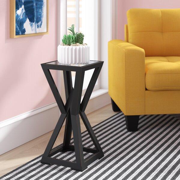 Superieur Glass Table Wood Base   Wayfair