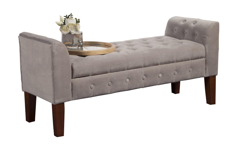 Three Posts Wilford Upholstered Storage Bench & Reviews | Wayfair