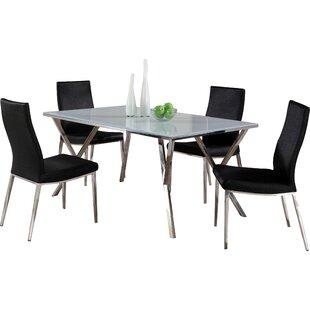 Decimus 5 Piece Rectangular Dining Set