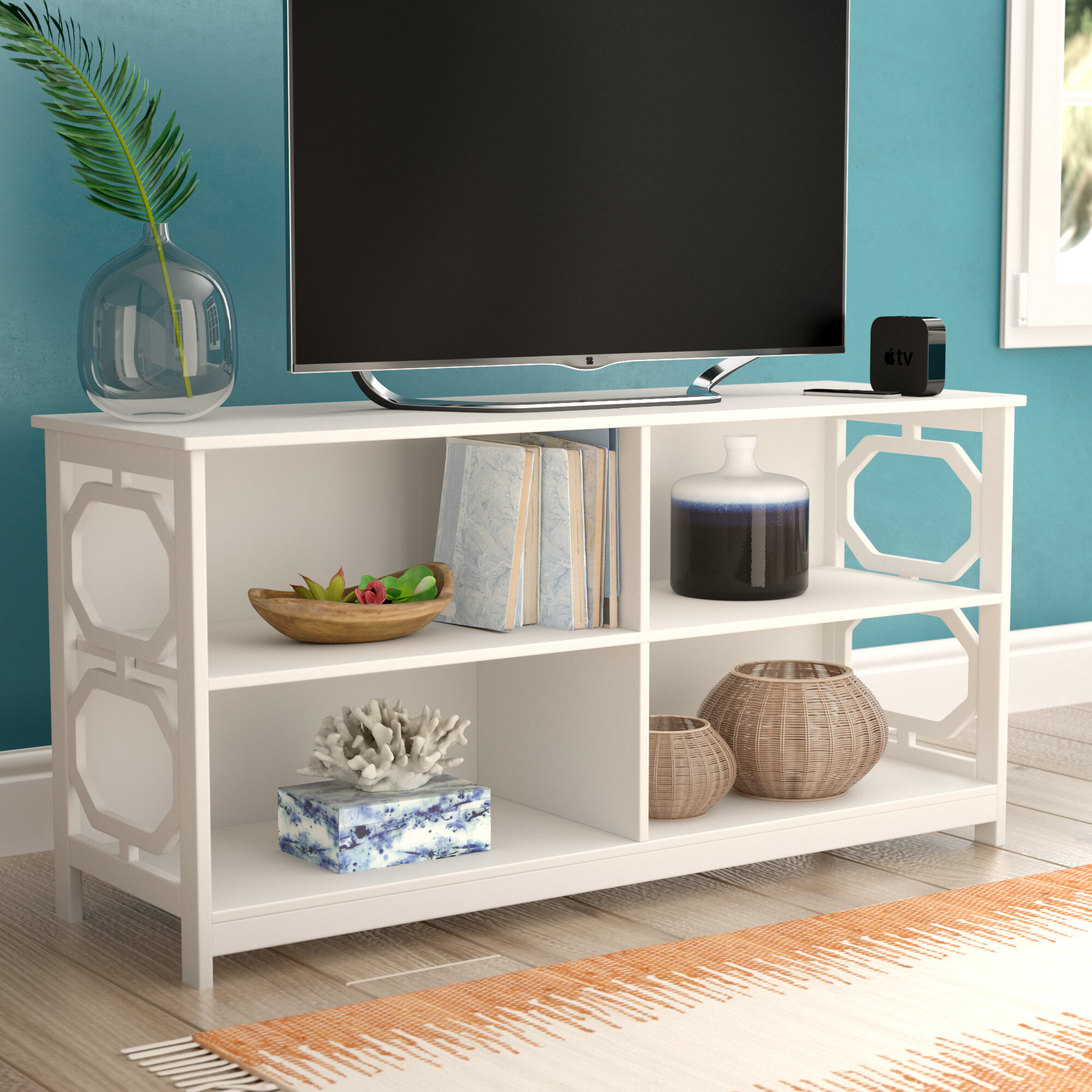 Beachcrest Home Country Walk Tv Stand For Tvs Up To 48 Reviews Wayfair