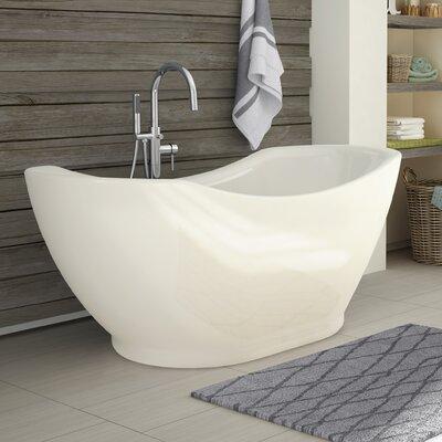 small freestanding soaking tub. salacia 67\ small freestanding soaking tub j