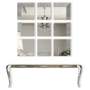 Fernwood Console Table and Mirror Set  sc 1 st  Wayfair & Console Table Mirror Set   Wayfair