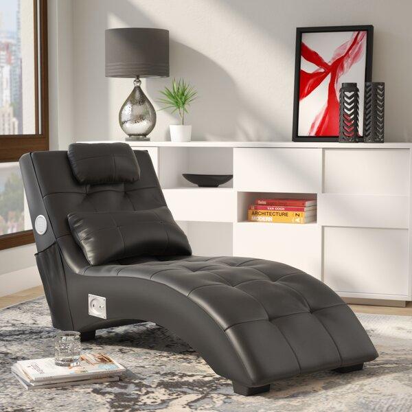 Charmant Latitude Run Khronos Leather Chaise Lounge U0026 Reviews | Wayfair