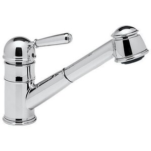 Rohl Pullout Single Metal Lever Single Hole Kitchen Faucet