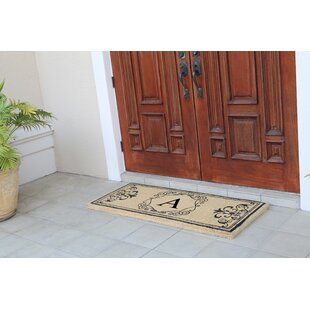 First Impression Hayley Monogrammed Entry Double Doormat