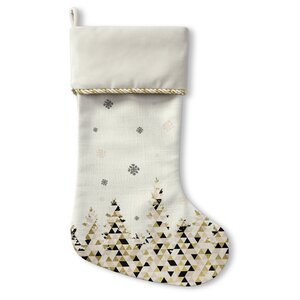 Christmas Snow Stocking