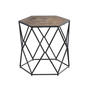 Caryl Hex End Table
