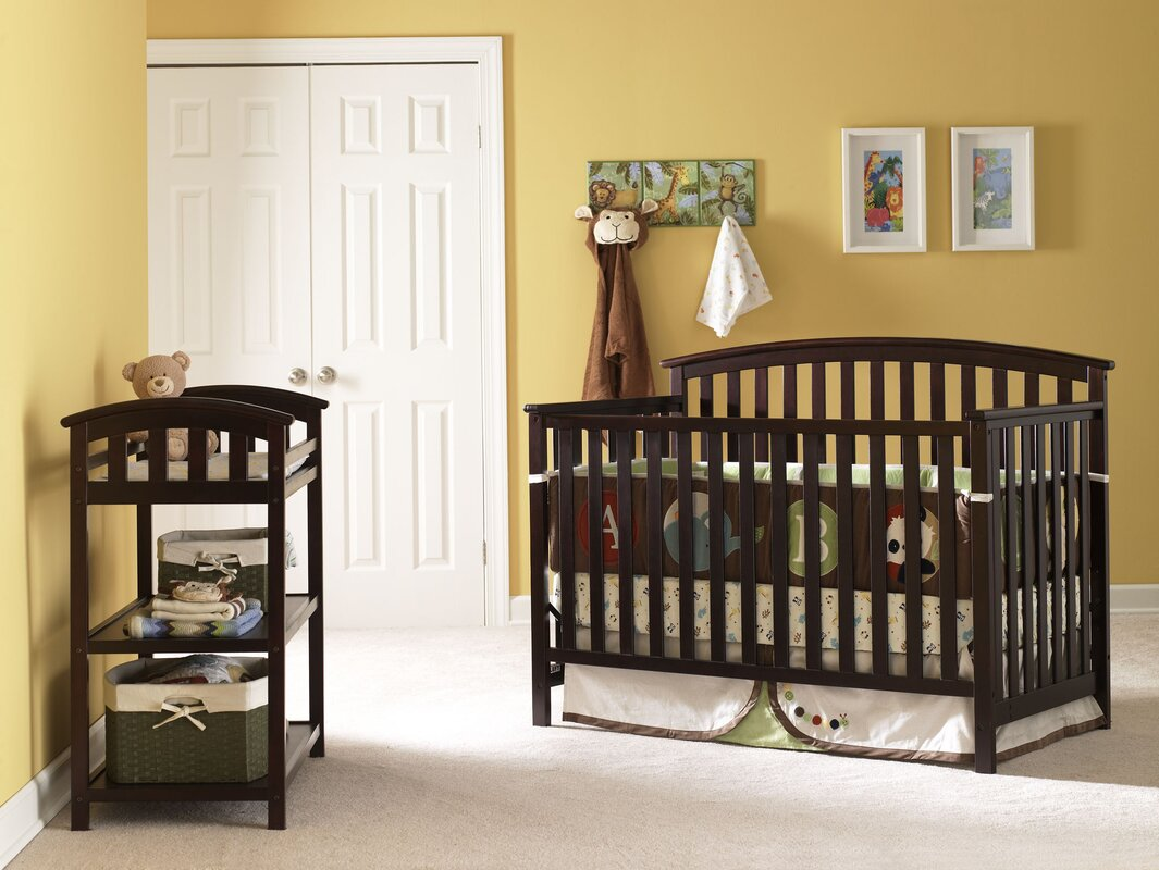 Graco Freeport 4 In 1 Convertible Crib Amp Reviews Wayfair
