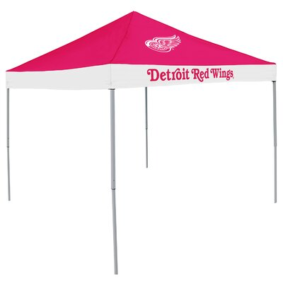 NHL Detroit Red Wings 4 Person Tent 9 Ft. W x 9 Ft. D Steel Pop-Up Canopy  sc 1 st  Wayfair & One Person Pop Up Tent | Wayfair