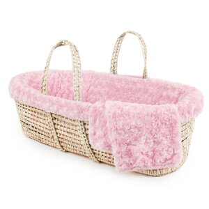 Twisted Fur Moses Basket