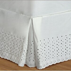 Athenis Eyelet Deck Bed Skirt