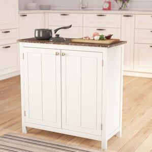 kitchen island cabinets. Haubrich Kitchen Island Islands  Carts You ll Love Wayfair