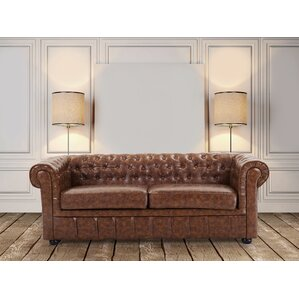 Leather Loveseat by Velago