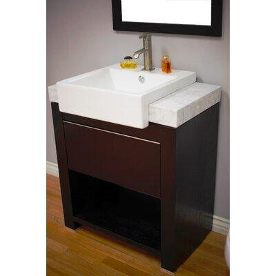 """30 In Bathroom Vanity wyndham collection zen ii 30"""" single bathroom vanity set with"""
