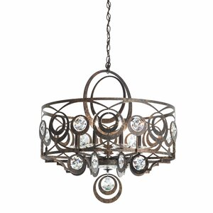 Gwynn 8-Light Drum Chandelier