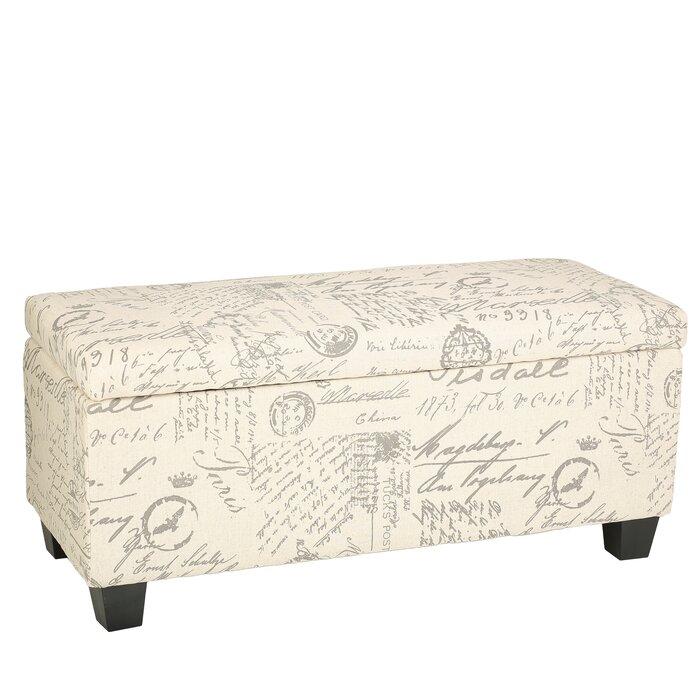 Phenomenal Lemieux Fabric Storage Bench Ibusinesslaw Wood Chair Design Ideas Ibusinesslaworg