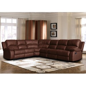 Kelleys Island Classic Reclining Sectional  sc 1 st  Wayfair : brown leather sectionals - Sectionals, Sofas & Couches