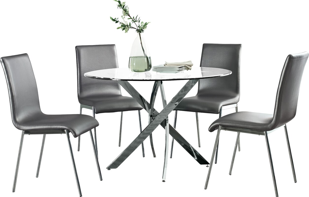 Metal Kitchen Dining Room Sets Youll Love Wayfair