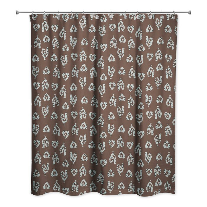 Ariel Rooster Shower Curtain