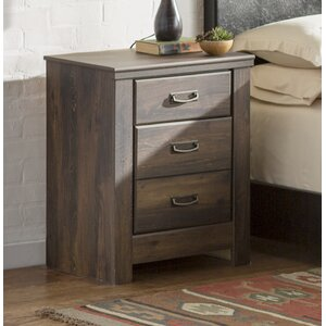 Saint Marys 2 Drawer Nightstand