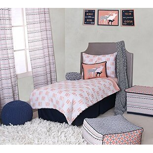 Exceptional Olivia Tribal Buck Feathers Triangles Muslin 4 Piece Toddler Bedding Set
