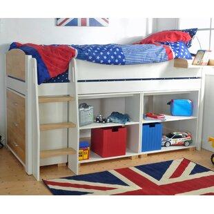 Norfolk Mid Sleeper Bed with Storage by Kids Avenue