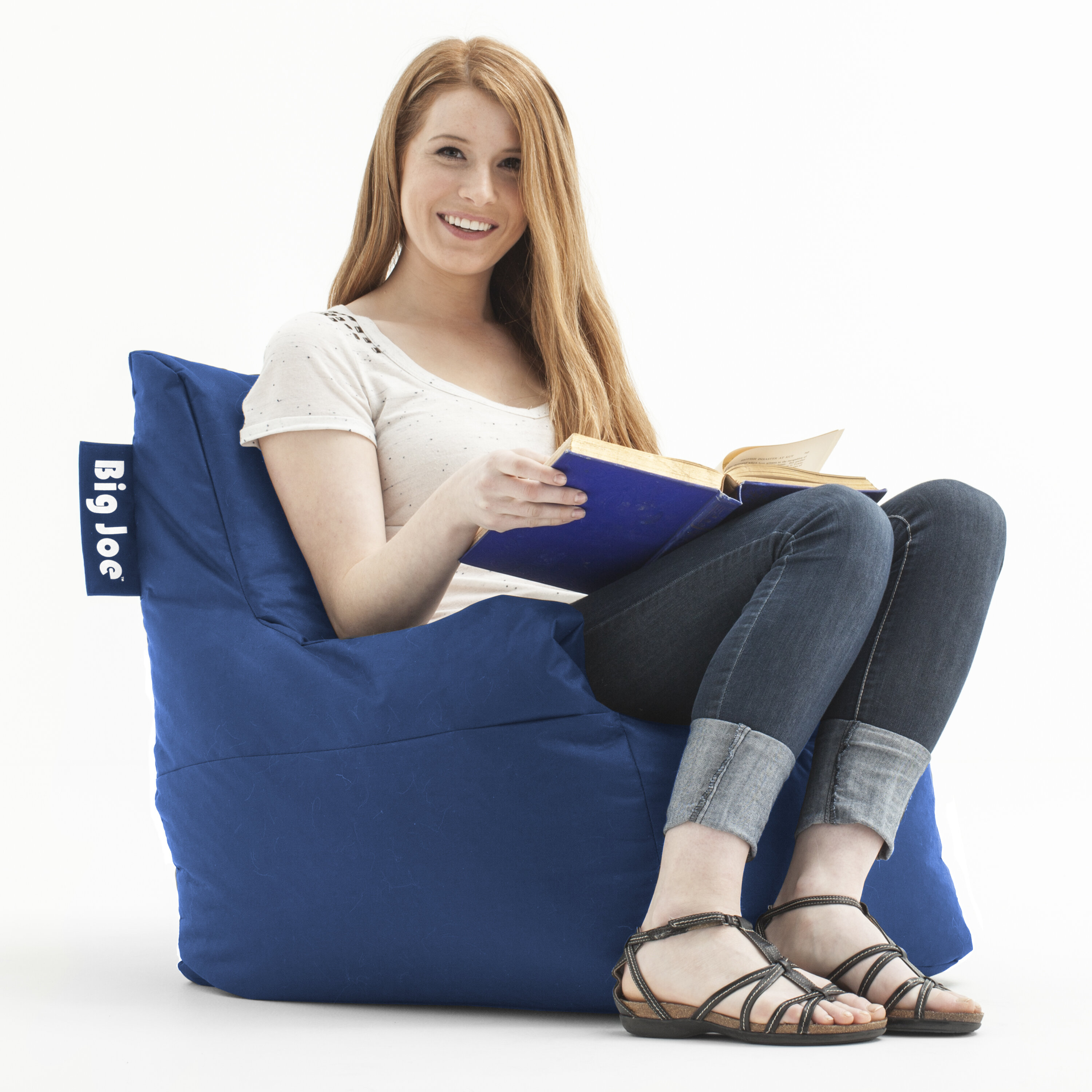 Comfort Research Big Joe Bean Bag Lounger U0026 Reviews | Wayfair