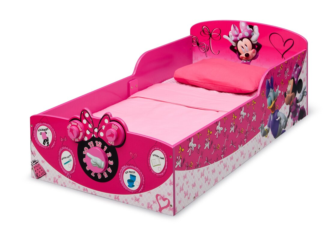 Minnie Mouse Toddler Bed  sc 1 st  Wayfair & Delta Children Minnie Mouse Toddler Bed u0026 Reviews | Wayfair