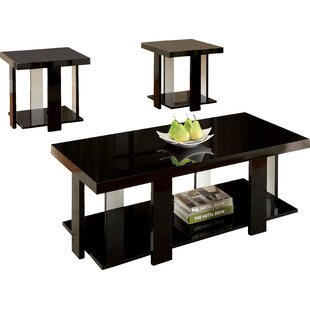Charmant Dicken 3 Piece Coffee Table Set