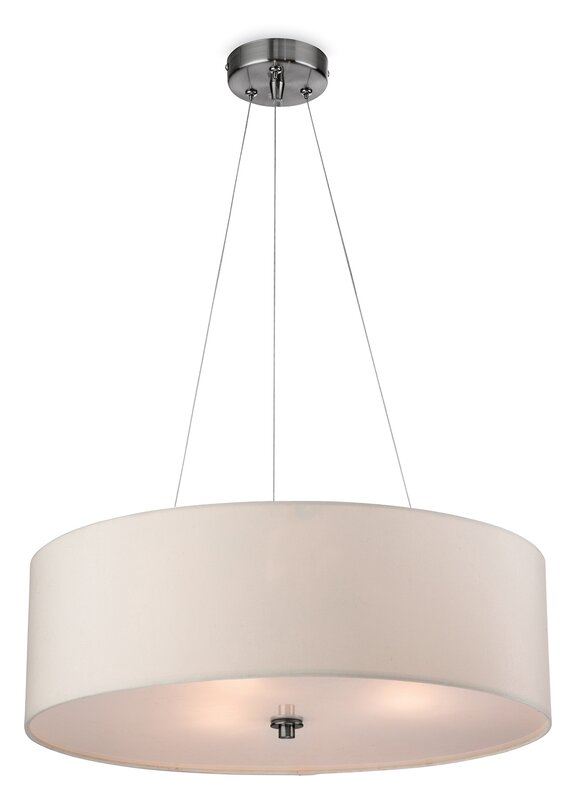 drum pendant lighting. Coello 3 Light Drum Pendant Lighting K
