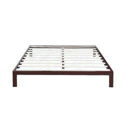 Modern Metal Bed Frames madison home usa modern metal platform bed frame & reviews | wayfair